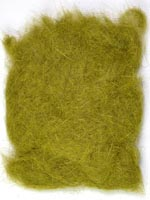 Rabbit Fur Dubbing<br>Olive Hare's Ear from W. W. Doak
