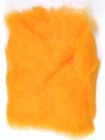 Rabbit Fur Dubbing<br>Orange from W. W. Doak