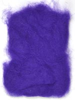 Rabbit Fur Dubbing<br>Purple from W. W. Doak