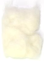 Rabbit Fur Dubbing<br>White from W. W. Doak