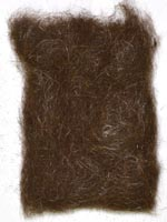 Hare's Ear Plus<br>Chocolate Brown from W. W. Doak