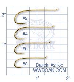 Daiichi #2135<br>&quot;Bob Veverka&quot; Salmon Hook from W. W. Doak