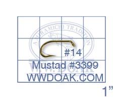 Mustad #3399 from W. W. Doak
