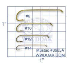 Mustad #3665A from W. W. Doak