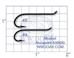 Mustad Accupoint #36890 from W. W. Doak