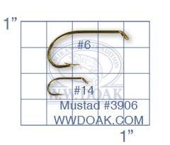 Mustad #3906 from W. W. Doak