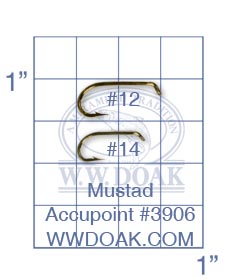 Mustad Accupoint #3906 from W. W. Doak
