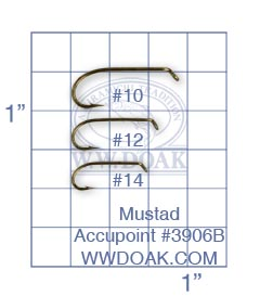 Mustad Accupoint #3906B from W. W. Doak