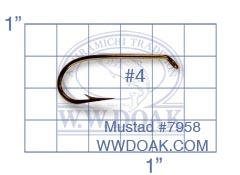 Mustad #7958 from W. W. Doak