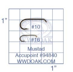 Mustad Accupoint #94840 from W. W. Doak