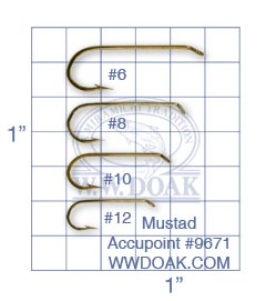 Mustad Accupoint #9671 from W. W. Doak