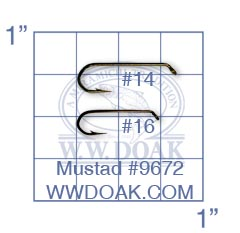 Mustad #9672 from W. W. Doak