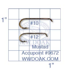 Mustad Accupoint #9672 from W. W. Doak