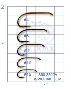 Mustad Signature S60-3399A from W. W. Doak