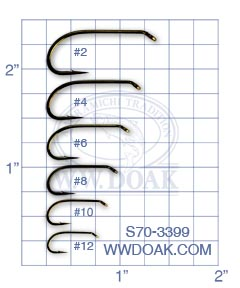 Mustad Signature S70-3399 from W. W. Doak