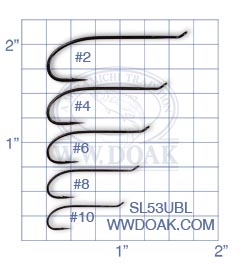 Mustad Signature SL53UBL from W. W. Doak