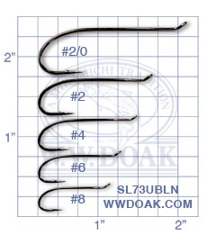 Mustad Signature SL73UBLN from W. W. Doak