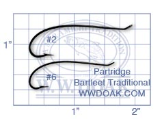 Partridge Bartleet Traditional<br>Code CS10/1 from W. W. Doak