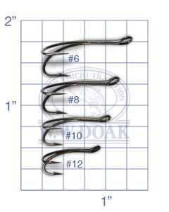 Partridge Patriot Double Hooks<br>Code CS16/2B from W. W. Doak
