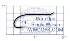 Partridge Single Wilson<br>Code 01 from W. W. Doak
