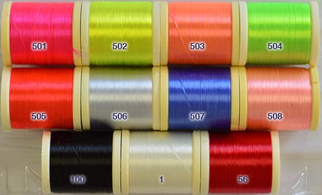 Danville Flat Waxed Nylon Thread - 210 Denier from W. W. Doak
