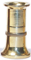 Large Brass Hair Stacker from W. W. Doak