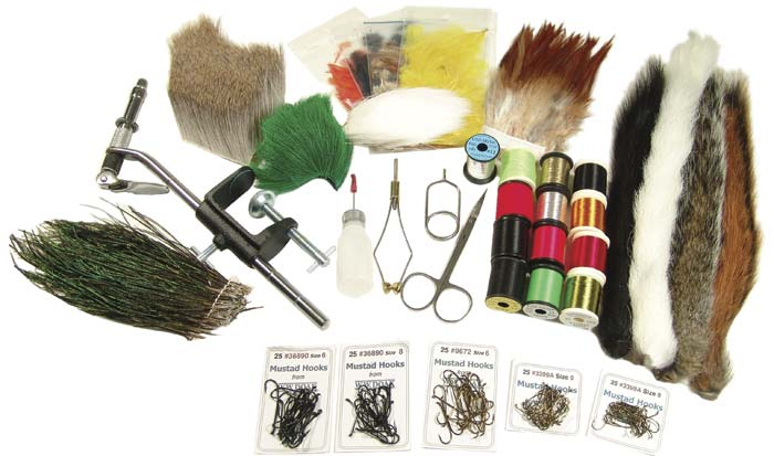 W. W. Doak Salmon Fly Tying Kit from W. W. Doak