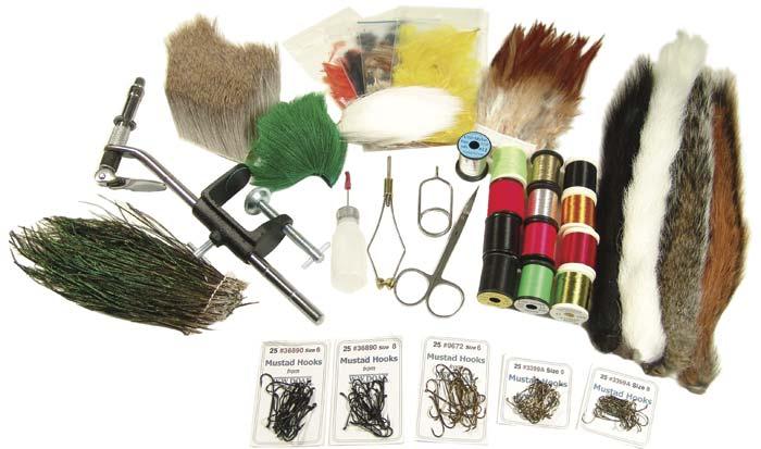 W. W. Doak Salmon Fly Tying Kit from W. W. Doak