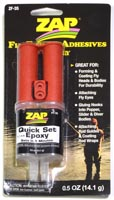 Zap Quick Set Epoxy from W. W. Doak