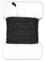 Sparkle Yarn<br>Black from W. W. Doak