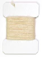 Sparkle Yarn<br>Cream from W. W. Doak