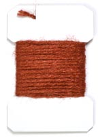 Sparkle Yarn<br>Rusty Brown from W. W. Doak