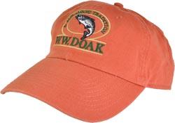 W. W. Doak Chino Twill Hat<br>Burnt Orange from W. W. Doak
