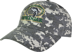 W. W. Doak Digital Camo Hat<br>Camo Grey from W. W. Doak