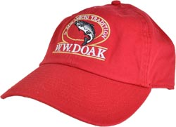 W. W. Doak Chino Twill Hat<br>Cranberry from W. W. Doak