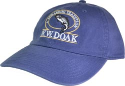 W. W. Doak Chino Twill Hat<br>Indigo from W. W. Doak