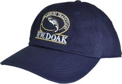 W. W. Doak Chino Twill Hat<br>Navy from W. W. Doak