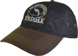 W. W. Doak Oilskin Hat<br>Black / Bronze from W. W. Doak