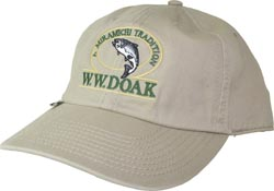 W. W. Doak Organic Cotton Hat<br>Khaki from W. W. Doak