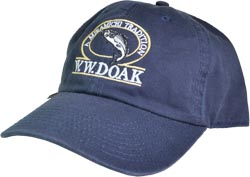 W. W. Doak Organic Cotton Hat<br>Navy from W. W. Doak