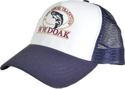 W. W. Doak Trucker Hat<br>Navy / White from W. W. Doak