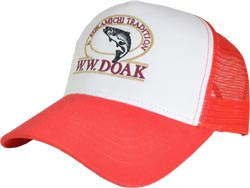 W. W. Doak Trucker Hat<br>Red / White from W. W. Doak