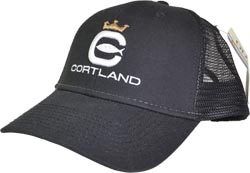 Cortland Trucker Hat<br>Black from W. W. Doak