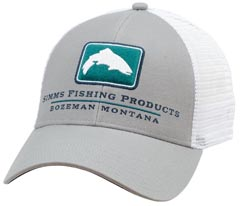 Simms Trout Icon Trucker Hat from W. W. Doak