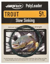 Airflo Polyleaders<br>Trout from W. W. Doak