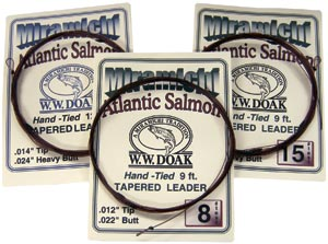 W. W. Doak<br>Miramichi Hand Tied Tapered Leaders from W. W. Doak