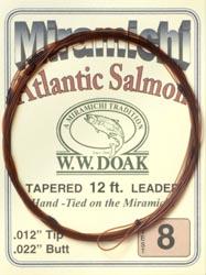 W. W. Doak Miramichi<br>Hand Tied Leaders - 12 ft. from W. W. Doak