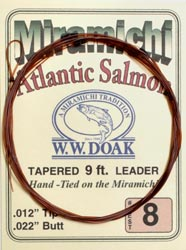 W. W. Doak Miramichi<br>Hand Tied Leaders - 9 ft. from W. W. Doak