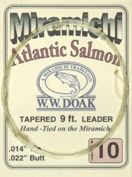 W. W. Doak Miramichi<br>Hand Tied Leaders - 9 ft. from W. W. Doak
