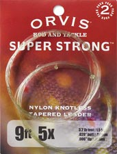 Orvis &quot;Super Strong&quot;<br>9 ft. Knotless Tapered Leaders from W. W. Doak